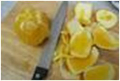 апельсин для салата из тыквы и брюссельской капусты