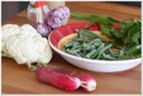 редис для овощного салата